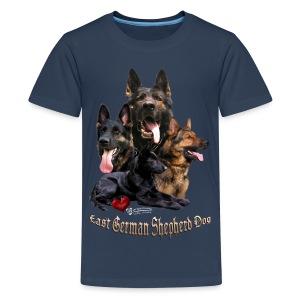 DDR-Schäferhunde - Teenager Premium T-Shirt