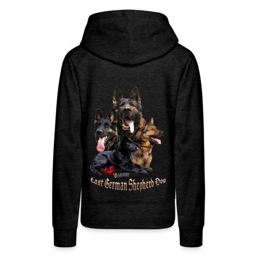 DDR-Schäferhunde - Frauen Premium Hoodie