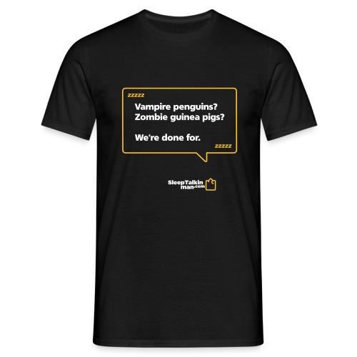 MENS: Vampire penguins? Zombie guinea pigs? - Men's T-Shirt