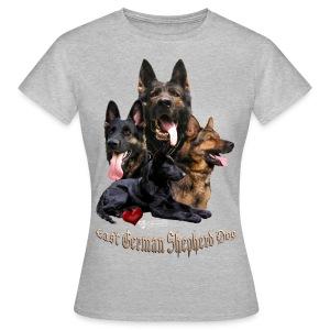 DDR-Schäferhunde - Frauen T-Shirt