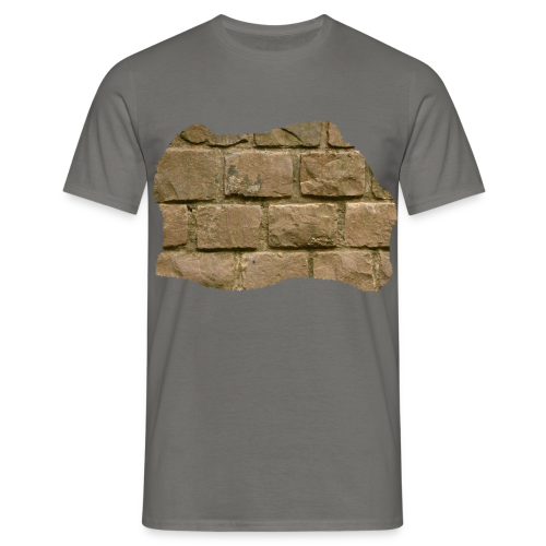 Männer T-Shirt - Design 'The Wall' by Amahy - Männer T-Shirt