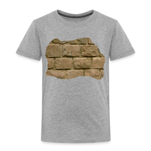 Kinder Premium T-Shirt - Design 'The Wall' by Amahy - Kinder Premium T-Shirt