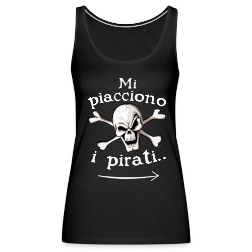Commessa pirata - Canotta premium da donna