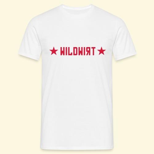 Wildwirt-Shirt Roter Stern - Männer T-Shirt