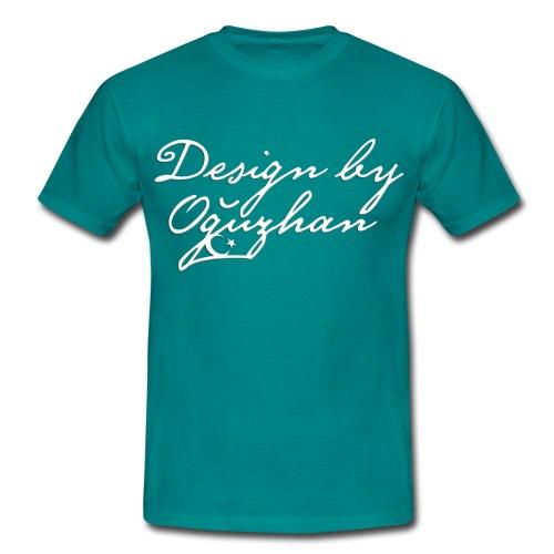 Design by Oguzhan  Blue Beyak - Männer T-Shirt