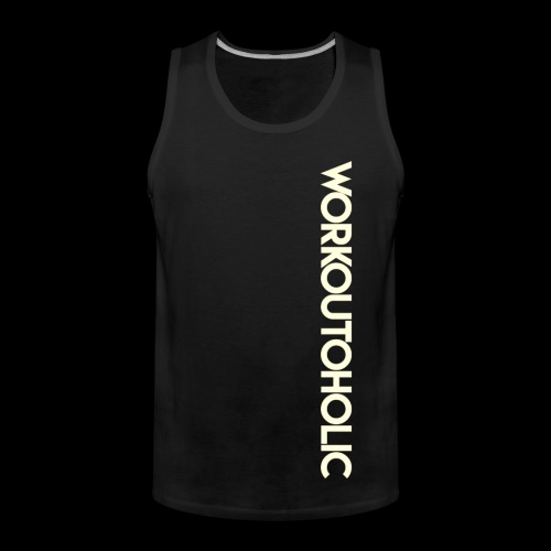 Workoutoholic (hommes) - Débardeur Premium Homme