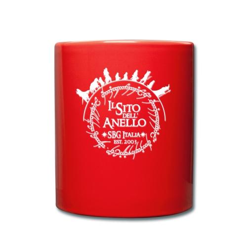 Tazza rossa Sito dell'Anello - Tazza monocolore