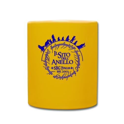 Tazza gialla Sito dell'Anello - Tazza monocolore