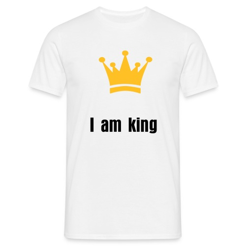 I am king - Men's T-Shirt