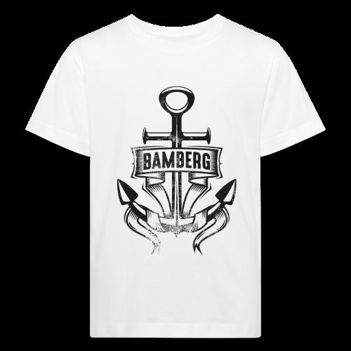 Bamberger Anker - Kinder BIO T-Shirt - 100% Baumwolle - #SERS - Kinder Bio-T-Shirt
