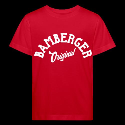 Bamberger Original - Kinder BIO T-Shirt - 100% Baumwolle - #SERS - Kinder Bio-T-Shirt