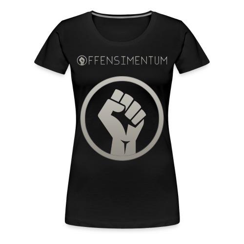 Offensimentum T-shirt Dame - Dame premium T-shirt