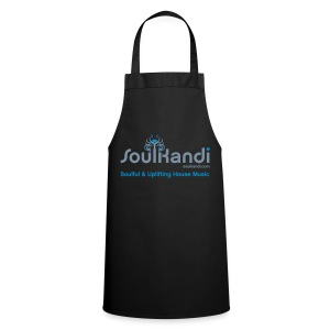 Cooks Apron with Silver & Blue Logo - Cooking Apron