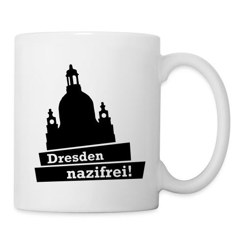 Kaffee-Pott Dresden nazifrei! - Tasse