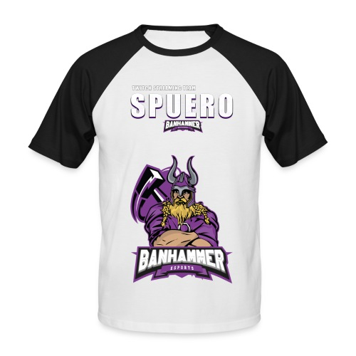Spuero Team Shirt - Männer Baseball-T-Shirt