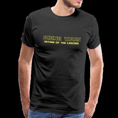 T-shirt Premium, Scene Wars - Premium-T-shirt herr