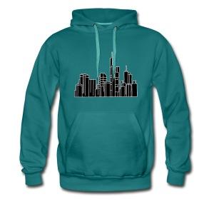 Frankfurt Skyline 2 - Männer Premium Hoodie