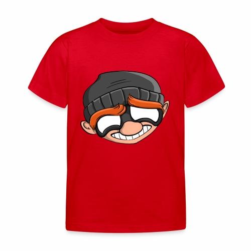 Robbery Bob Face T-shirt - Kids! - Kids' T-Shirt