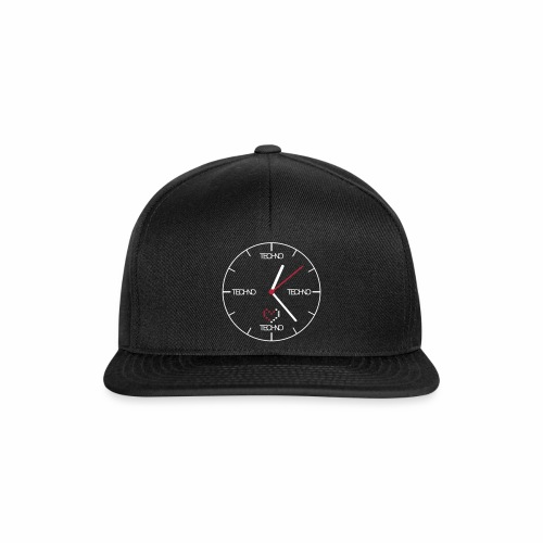 Techno Time - Cap - Snapback Cap