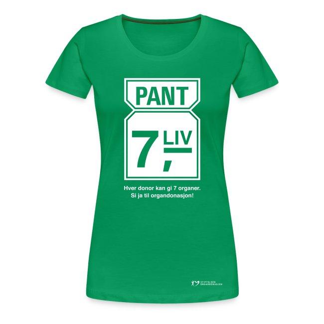 """""""Pant 7 liv"""" – dame"""