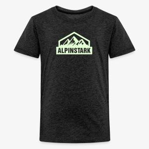 Alpinstark - Kids Shirt - Teenager Premium T-Shirt