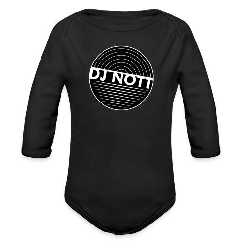 DJ Nott Longsleeve Baby Bodysuit - Organic Longsleeve Baby Bodysuit
