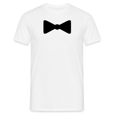 White bow tie T-Shirts