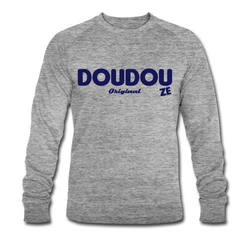 Doudouze authentic Grey Homme - Sweat-shirt bio Stanley & Stella Homme