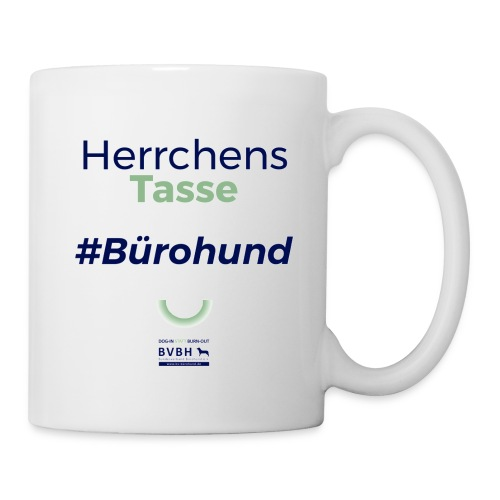 Herrchens Tasse - #Bürohund - Tasse