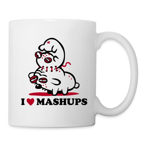 I Love Mashups - Tasse