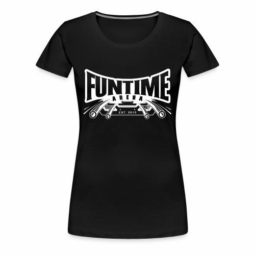 Girlie - Coaster FunTime Arena - Frauen Premium T-Shirt