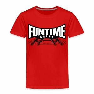Kiddie-Shirt - Coaster FunTime Arena - Kinder Premium T-Shirt