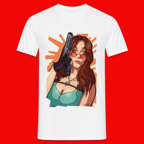 T-Shirt Bahamut Lara - T-shirt Homme