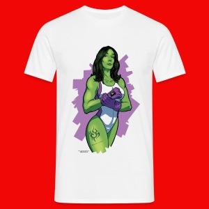 T-Shirt Bahamut Mrs Hulk - T-shirt Homme