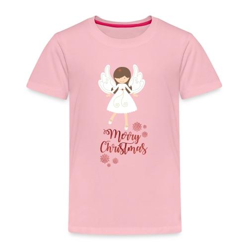 Süsses Weihnachts-Shirt mit Engel - Kinder Premium T-Shirt