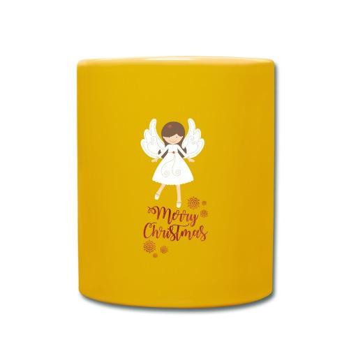 Süsse Weihnachtstasse - Tasse einfarbig