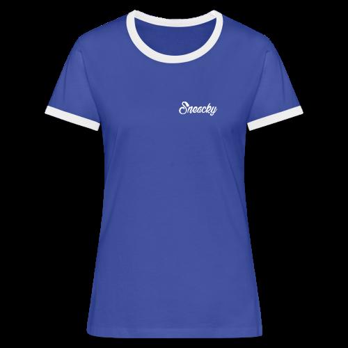 Tee-shirt manche courte Sneacky  Femme - T-shirt contrasté Femme