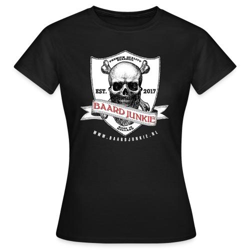 Baardjunkie Dames - Vrouwen T-shirt