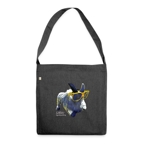 CAPRA! The Community Goat - Schultertasche aus Recycling-Material