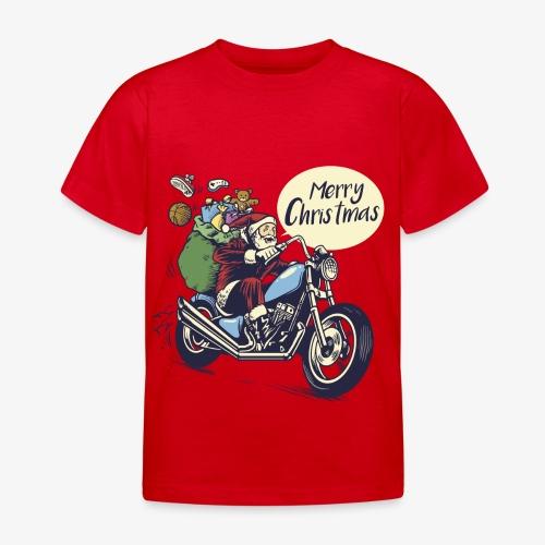 Santa Motorbike kids Shirt - Kids' T-Shirt