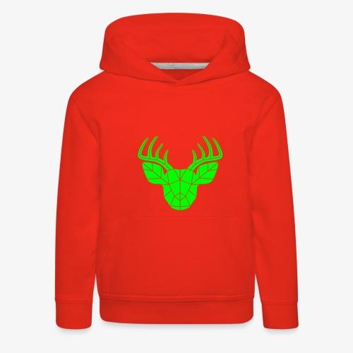 Christmas Deer Kids Hoodie - Kids' Premium Hoodie