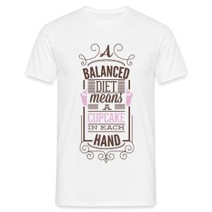 A balances diet - T-shirt Homme