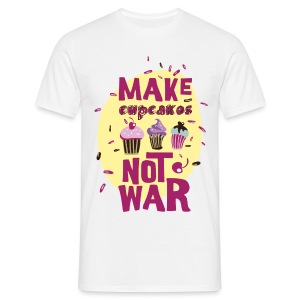 Make cupcakes - T-shirt Homme