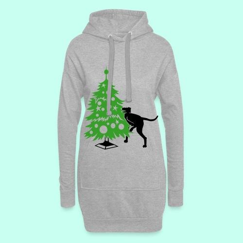 Weihnachtsbaum für Doggen - Hoodie-Kleid