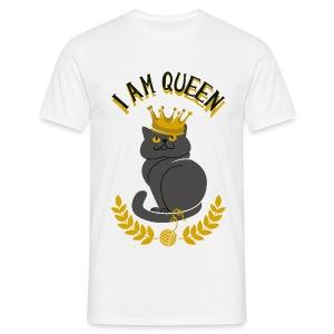 I am Queen  - T-shirt Homme