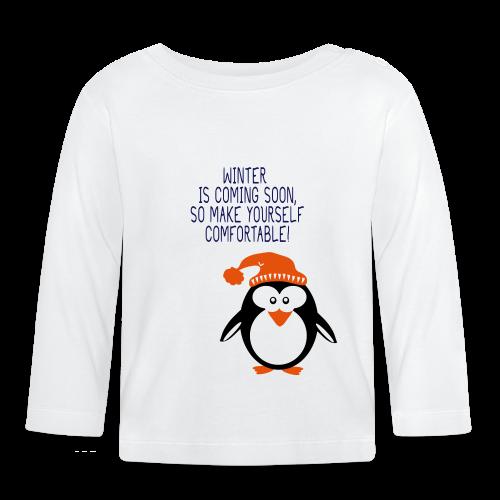 pinguin - Baby Langarmshirt