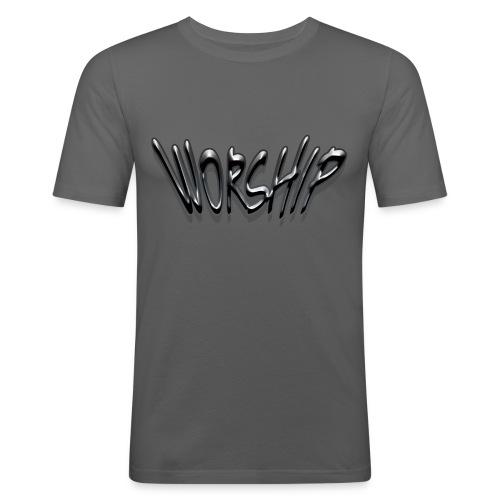 Worship (2) - T-shirt près du corps Homme