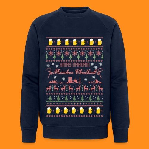 Ugly Christmas Sweater - Münchner Christkindl - Männer Bio-Sweatshirt von Stanley & Stella