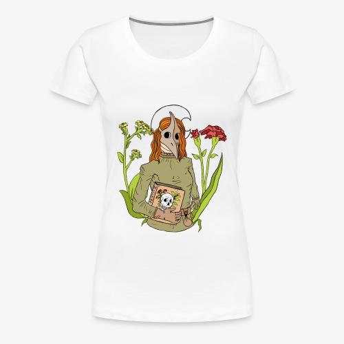 Pest Maske / plague mask color  - Frauen Premium T-Shirt