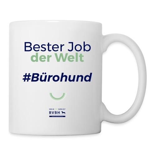 Bester Job der Welt - Bürohund - Tasse